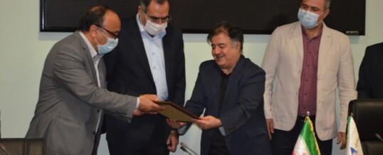 قدردانی از مدیرعامل کارخانجات تولیدی شرکت مهراصل در روز ملی صادرات